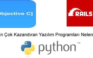 En Çok Kazandıran Yazılım Programları Nelerdir?
